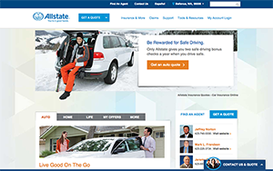 Allstate website