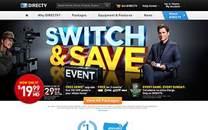 DirecTV website