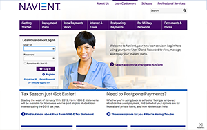 Navient website