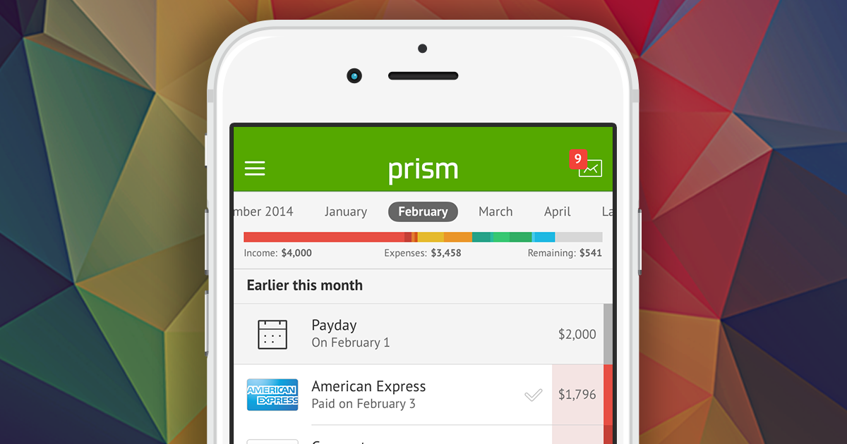 Pay Chime Card with Prism • Prism